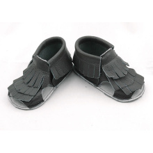 Factory Price for Baby Sandals Wholesale Genuine Leather Baby Tassels Flip Flops export to Poland Manufacturers