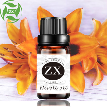 100% pure natural neroli oil for skin care
