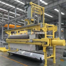 Sewage Treatment Plate Frame Filter Press Industry