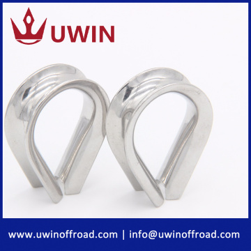 Stainless Steel Winch Rope Thimble