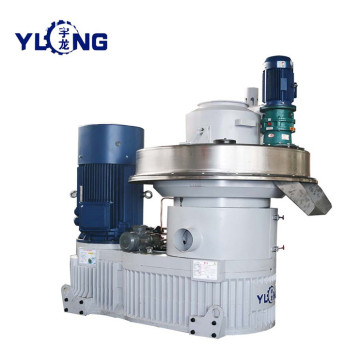YULONG XGJ560 biomassa populier houtpellets machine