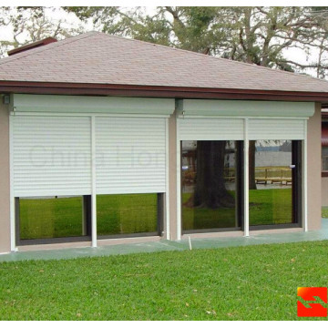 ອາລູມິນຽມ Alloy Automatic Residential Sectional Garage Door