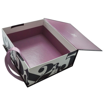 Custom Logo Cardboard Cosmetic Gift Box with Divider