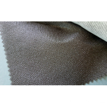 PA coating double dots stitched paper interlining