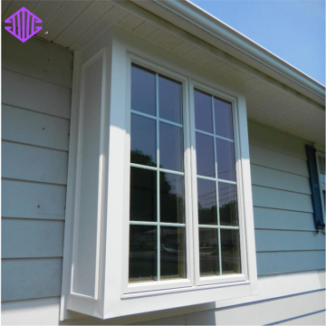 Lingyin Construction Materials Ltd Best seller price aluminium Casement Window with Grill Design