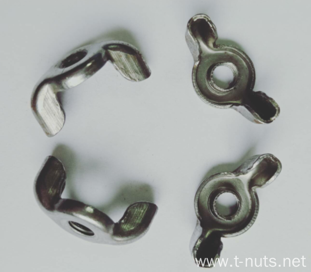 Stainless steel Thread with thread Wing nuts