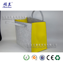 Wholesale customized felt tote bag shoulder bag