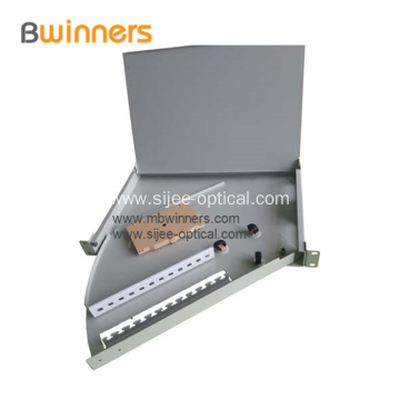 Sliding Drawer Type Fiber Optic Distribution Box 19 Inch