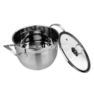 5-Piece Cooks Hindi Kinakalawang na Steel Stainless Cookware