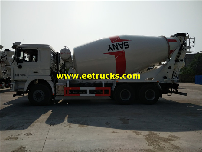 3000 Gallons Beton Transport Mixers