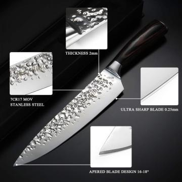 8Inch Japanese High Carbon Stainless Steel Chef Knife