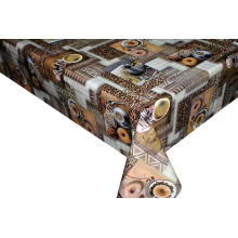 Pvc Printed coffee table covers indoor