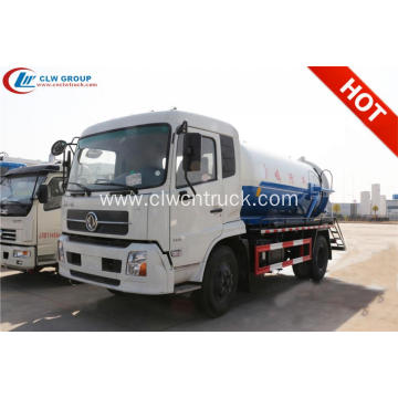 2019 New Dongfeng 4X2 10000litres Sewage drainage truck