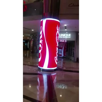 Indoor p4 full color flexible led display panels