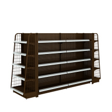 Big Discount for Backplane Supermarket Shelf,Hole Supermarket Shelf,Net Supermarket Shelf Manufacturers and Suppliers in China Convenience Store Display Shelves export to Suriname Wholesale