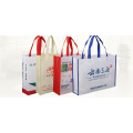 Customized shopping bag with large capacity non-woven fabric
