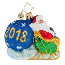 New Year Customized Hand Painted Blown Glass Christmas Ornaments