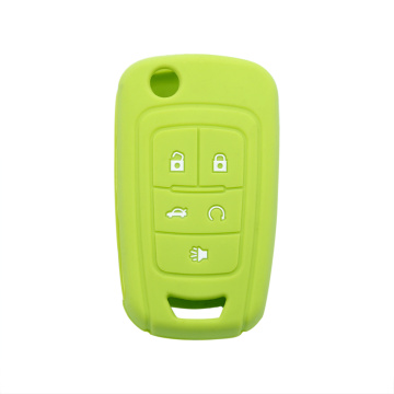 Embossed Logo Chevrolet Car Key Silicone Cover
