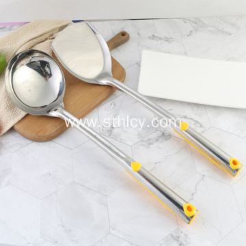 Stainless Steel Home Kitchen Cooking Shovel Spoon