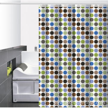 Waterproof Bathroom printed Shower Curtain 65 Inches