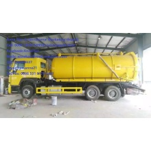 Customized for Sewage Suction Truck Sinotruk Howo7 Sewer Vacuum Truck 6×4 supply to French Southern Territories Factories
