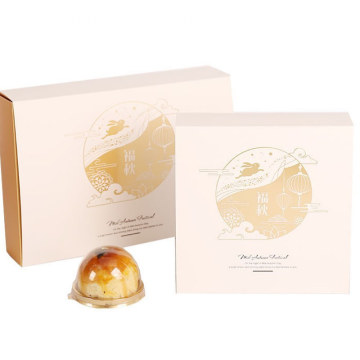 Card Boxes For Moon Cake Holiday Packaging