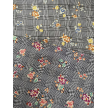 Texture Flower Rayon Challis 30S Light Printing Fabric