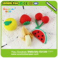 Fruit group Shaped Eraser,Stationery Office erasers