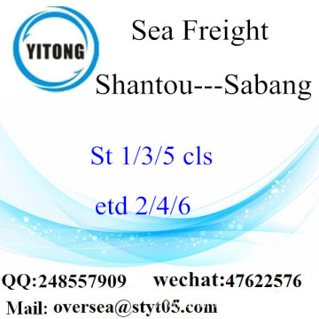 Shantou Port LCL Consolidation To Sabang