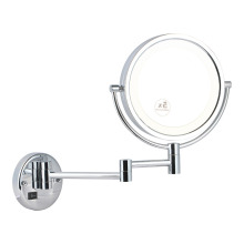 5x Double side wall mirror with light