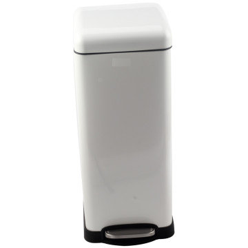 Household Stainless Steel Pedal Bin with Bucket