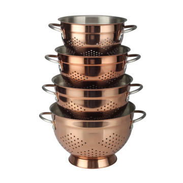 Copper Fruit& Vegetable Colander