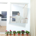 black color waterproof fiberglass anti mosquito net window
