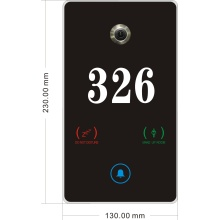 Shenzhen Manufacturer  Remote Control Automation Systems Smart hotel door plate
