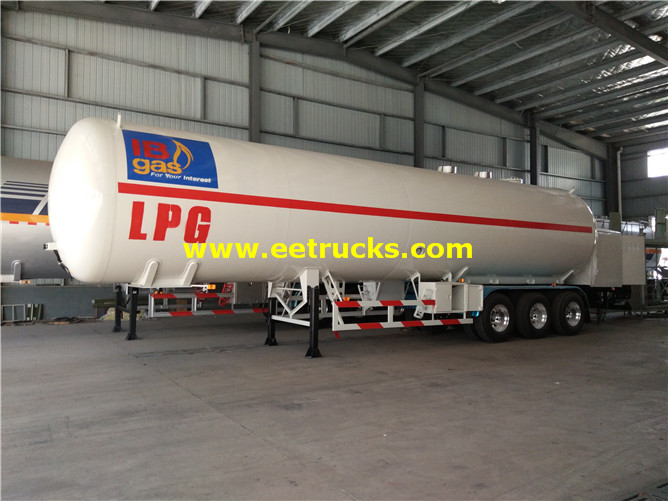 60cbm LPG Filling Trailers