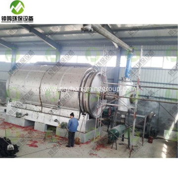 Pyrolysis Waste to Energy Line