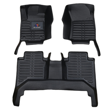 Leather Car Foot Mats Floor Mats for Peugeot 408 508 3008 406