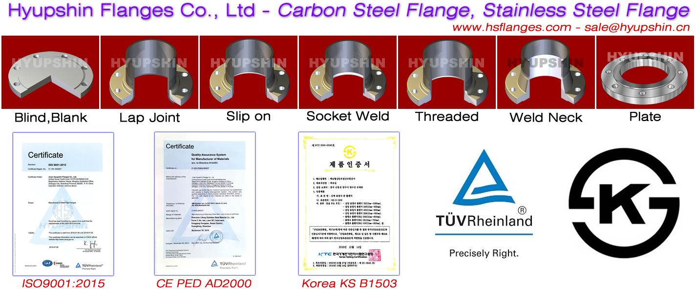 Hyupshin Flanges China Steel Flange Manufacturer