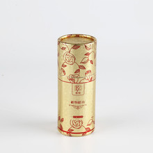 Custom Luxury Perfume Cylinder Packaging Box