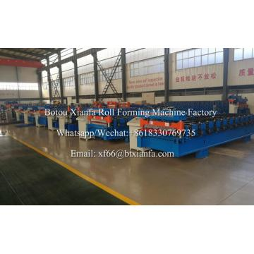 Color Steel Roof Corrugated Sheet Roll Forming Machine
