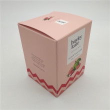 Custom Flat Packed Candle Boxes with Logo