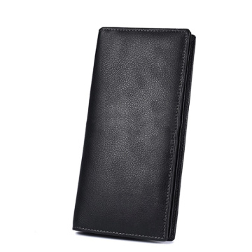 Custom Cowhide leather Minimalist Long Man Wallet