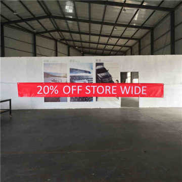 Outdoor Vinyl Banner Printing Advertising PVC Banner