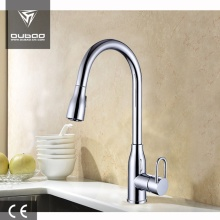 China for CUPC Bathroom Faucet High Arc Single Hole Tap Faucets With Sprayer export to India Supplier
