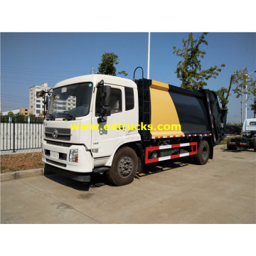 12 CBM Dongfeng Compress Trash Trucks