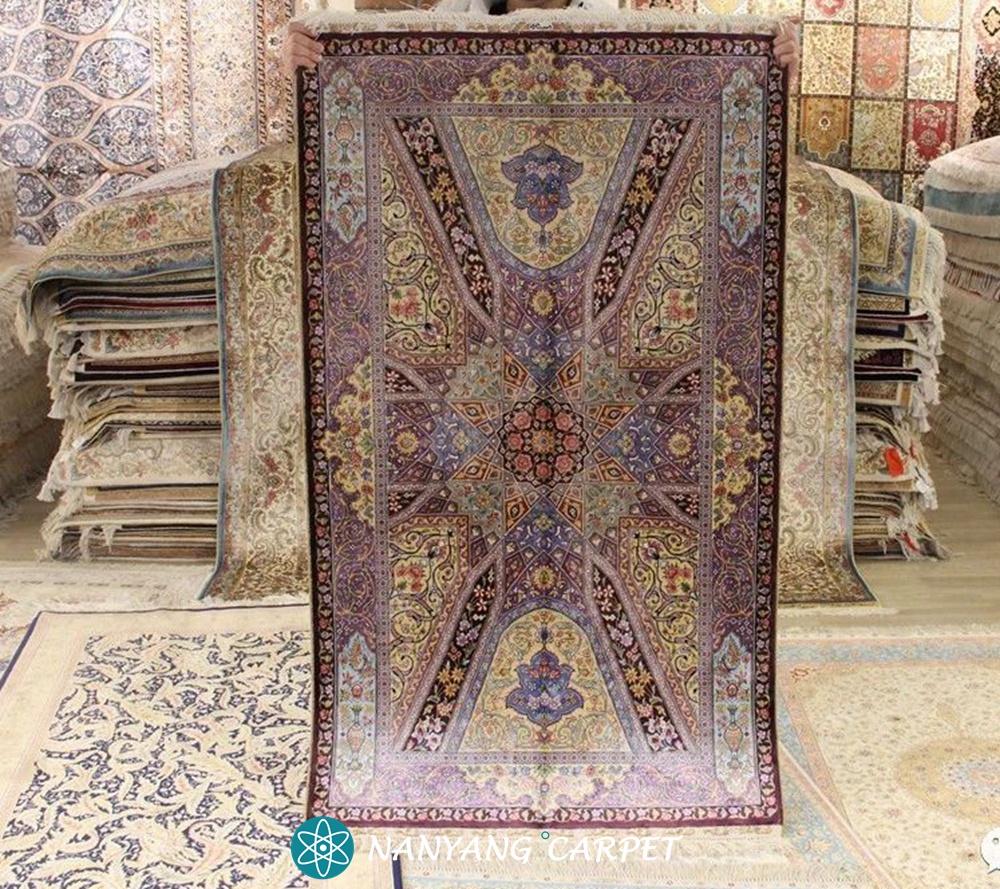 Purple persian rug (2)