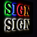 Advertising Halo Lit Led Channel Letter Signs