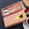 Cheap Price Custom Silverware Gift Package Heart Spoon