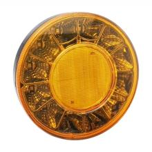 LED Round Bus Truck Tail Indicator Lamps