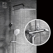 HIDEEP Bathroom Hot And Cold Shower Faucet